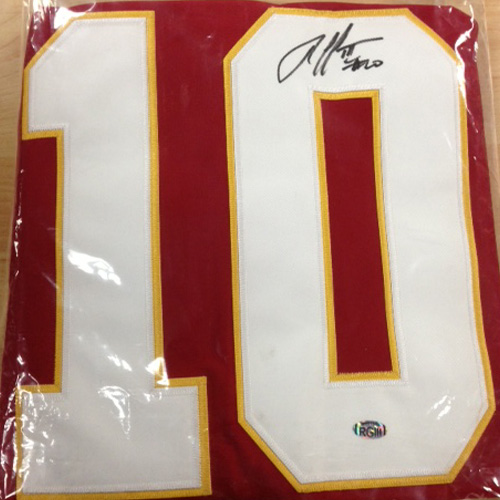 new arrival 2a835 ed1a1 Robert Griffin III Signed Redskins Jersey | MVP Sports ...
